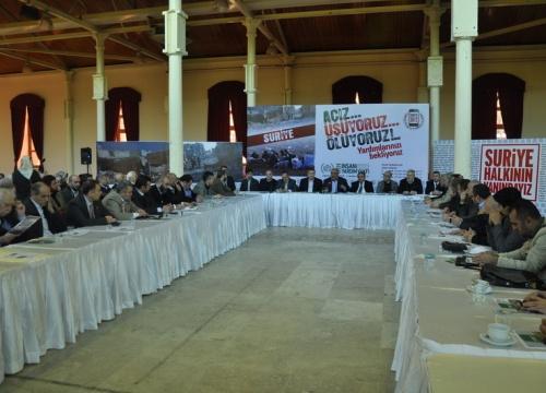 STKlar Suriye İçin Yardım Seferberliği Başlattı
