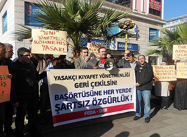Yasakçı MEB Genelgesi Ereğlide Protesto Edildi