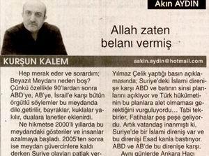 Allah Zaten Belanı Vermiş