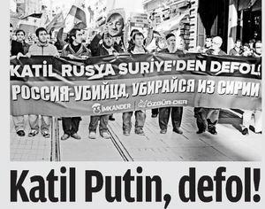 Katil Putin, Defol!