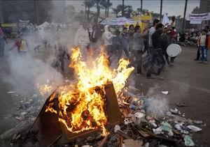 Mısırdaki Gösterilerde Onlarca Kişi Yaralandı