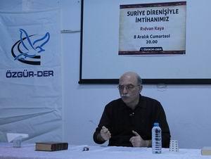 """K.Çekmecede """"Suriye Direnişi"""" Konuşuldu"""