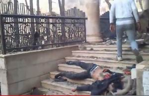 Esed Güçleri Yermukta Camiyi Bombaladı