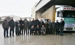 Çorum Halkının Yardımları Suriye Yolunda