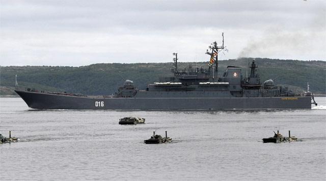 Rusya Tahliye İçin Akdenize Gemi Gönderdi