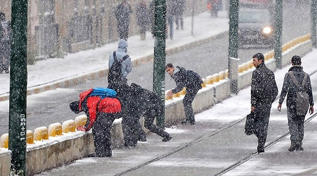 İstanbul'da Okullara 1 Gün Kar Tatili