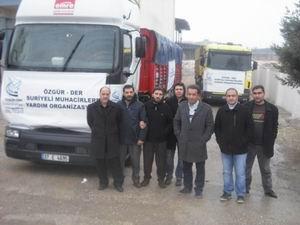 Özgür-Der'den Suriyeli Muhacirlere Un Yardımı