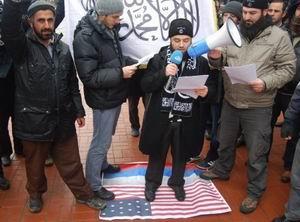Ankara'da ABD Büyükelçiliğinde Protesto