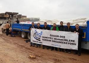 Batman Özgür-Derin Yardımları Suriyede