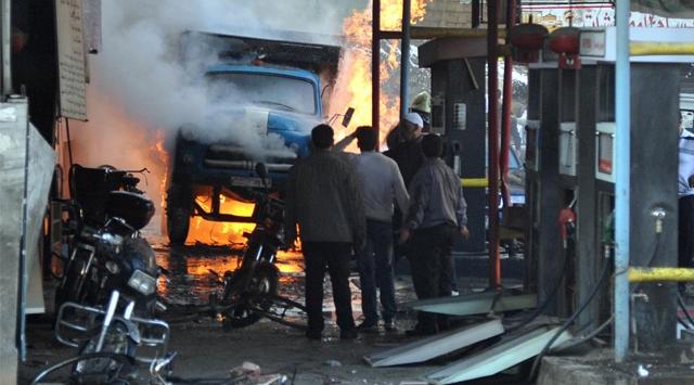 Esed Bu Defa Humus'ta Fırın Bombaladı
