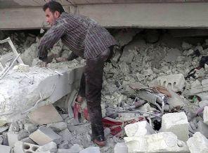 Suriye'nin Türkiye Sınırında Hastaneye Saldırı