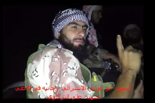 Avustralyalı Ebu Velid Suriye'de Şehid Düştü