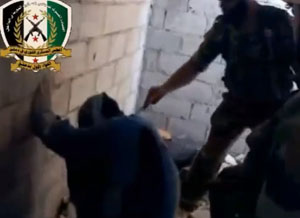 Suriye'de Kahreden Görüntü (VİDEO)