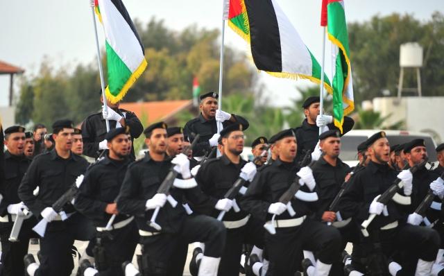 Gazze Polis Koleji Mezunları Verdi