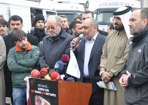 Suriye'ye 33 Yardım TIR'ı Yola Çıktı