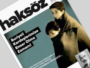 Haksöz Dergisinin 262. Sayısı Çıktı!