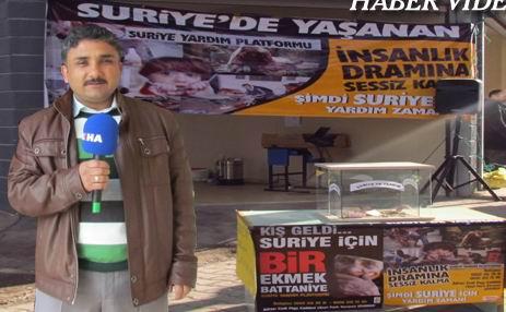 Siverekten Suriye Halkına Yardım