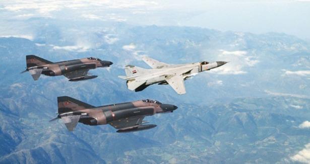 Suriyeli Pilot Mig-23le Türkiyeye Kaçtı