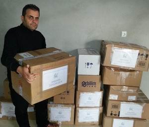 Ankara Özgür-Der'den Suriye'ye İlaç Yardımı