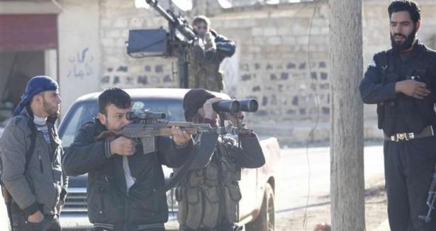 Halep Muhaliflerin Eline Geçmek Üzere