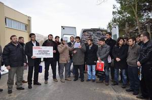 Uludağ Ünv. Öğrencilerinden Suriyeye Yardım
