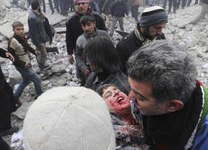 Halep-Azez'de Katliam: 40 Şehit (FOTO)