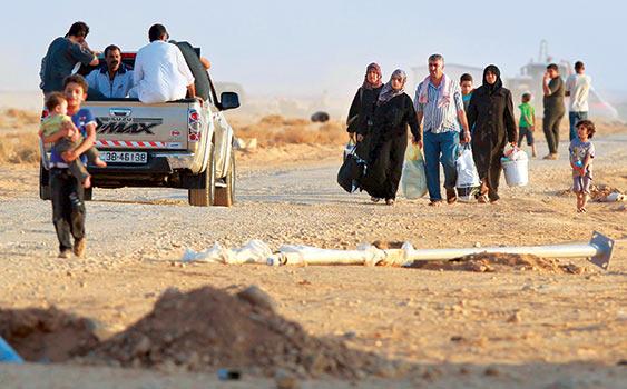 Türkiye'deki Suriyeli Muhacirlerin Sayısı 500 Bine Ulaştı