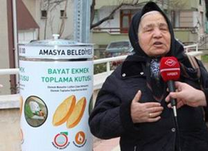 Amasya'da Ekmek İsrafına Çare Arayışı