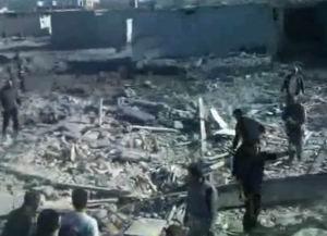 Suriye'de 14 Filistinli Mülteci Daha Katledildi (VİDEO)