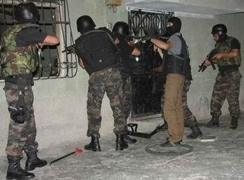 DHKP-C Operasyonunda 12 Tutuklama