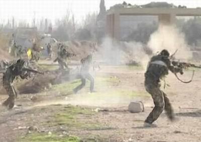 Suriyeli Direnişçilerin Eğitim Görüntüleri