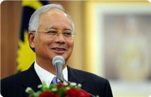 Malezya Başbakanı Muhammed Necib Gazzede
