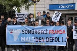 Barbar Fransa'nın Mali'ye Yönelik Müdahalesini Lanetliyoruz!..