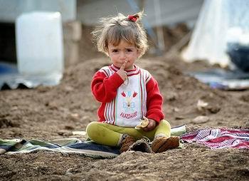 Savaşın En Büyük Mağduru Çocuklar