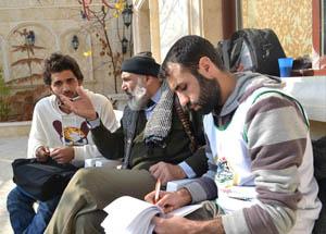 Halep'te Komutan Azzam İle Görüştük...