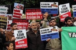 Adana: Başörtüsüne, Şartsız Her Yerde Özgürlük!