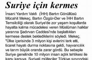 Suriye İçin Kermes
