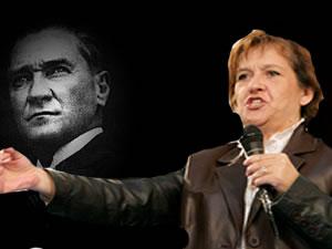 Birgül Hanım'a Vurun, Atatürk'e Saygı Duyun!