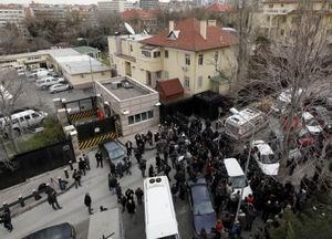 Ankara'da ABD Büyükelçiliği Önünde Patlama!