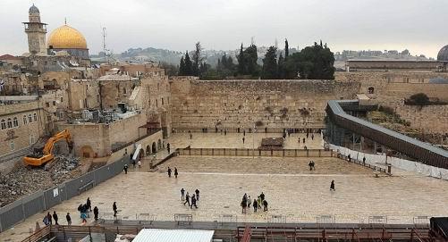 Mescid-i Aksa Yanına Sinagog