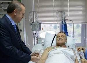 Erdoğan, Ergin Saygun'u Ziyaret Etti