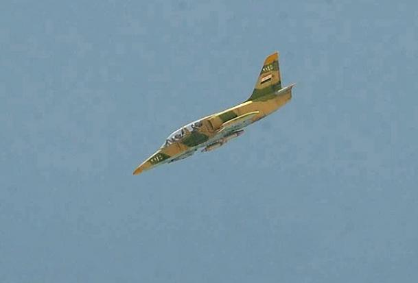 Direnişçiler Hamada Savaş Uçağı Düşürdü