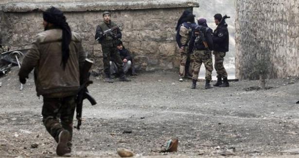 Halep Askeri Havaalanı Direnişçilerin Elinde
