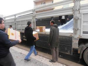 Bingölden Suriye Halkına Yardım Tırı