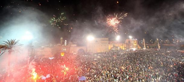 Libyalılar Devrimin 2. Yılını Kutladı