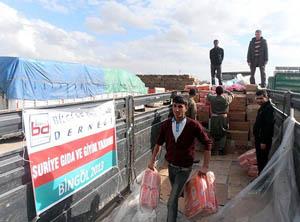 Suriyeye Gıda ve Giyecek Yardımı