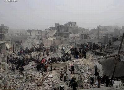 Halep'te Scud Füzesi Katliamı
