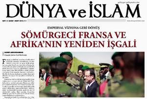 Dünya ve İslam Gazetesi 4. Sayısı Çıktı!