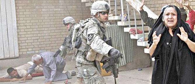 ABD Irak'a Tecavüz Götürmüş!