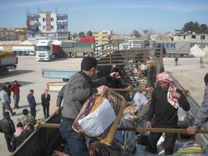 Özgür-Der, Suriyelilere Yardıma Devam Ediyor